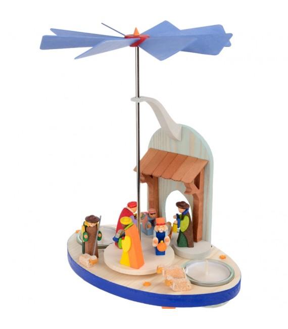 crèche de Noel avec rois mages