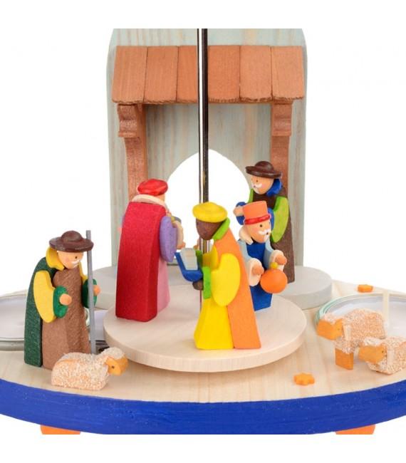 enfant Jésus, Marie et Joseph et rois mages