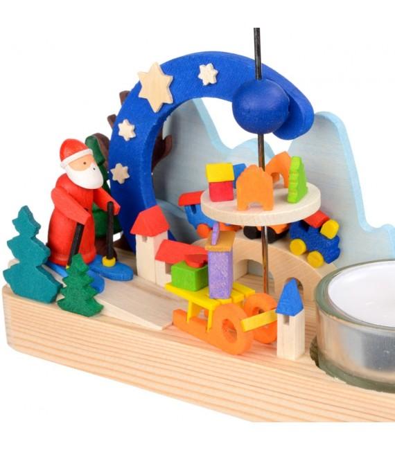 carrousel de Noel père Noël jouets