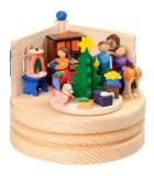 Petite boite à musique enfantine, autour du sapin de Noel