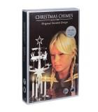 Carillon suédois père Noël couleur argent