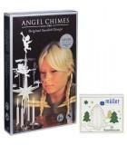 Bougies blanches pour carillon des anges