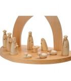 fabrication creche en bois