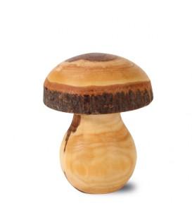 Champignon en bois décoratif, 7 cm