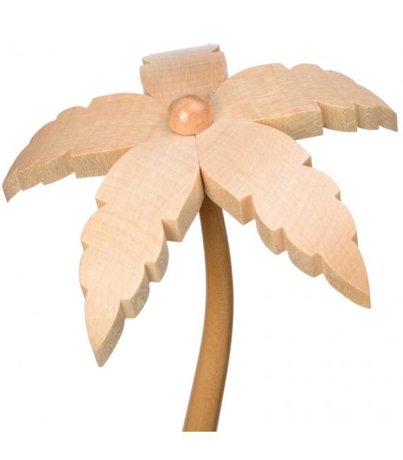 Grand palmier pour décorer une crèche de Noël