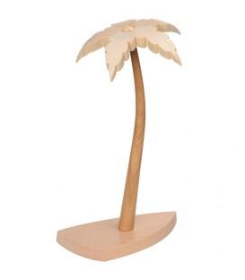 Petit palmier en bois 17 cm pour crèche de Noël
