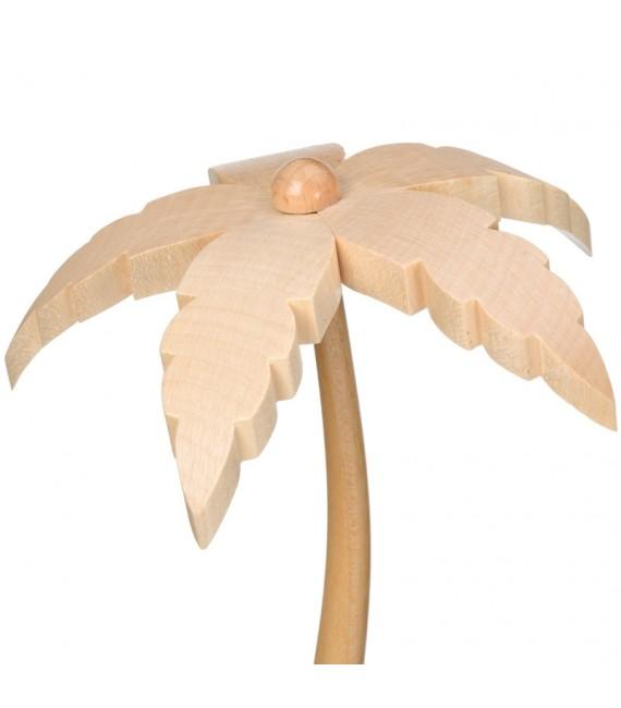Petit palmier en bois pour décoration crèche de Noël