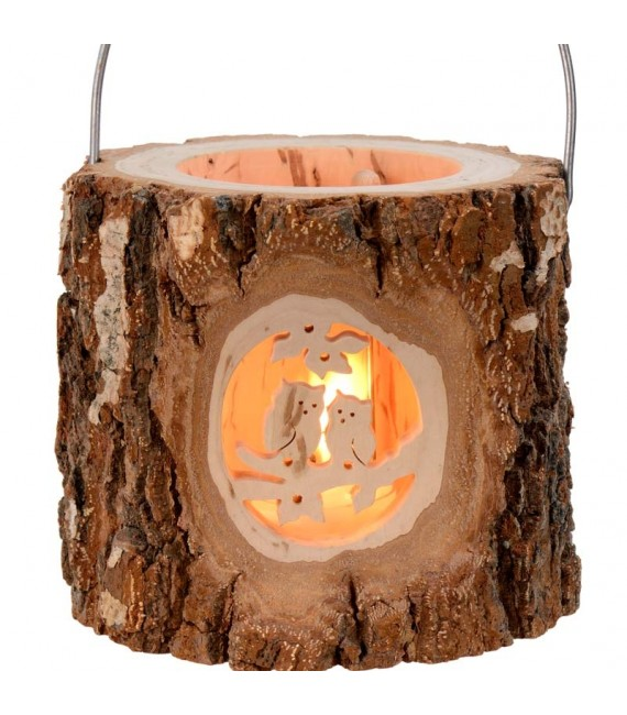 Lanterne photophore hibou
