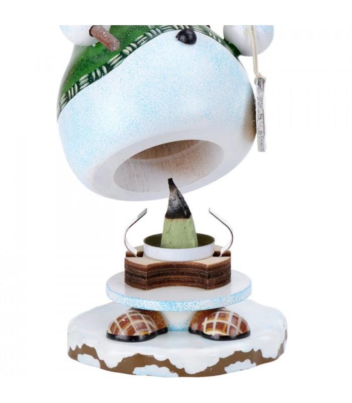 Brule parfum bois bonhomme de neige porte encens for Decoration porte bonhomme de neige