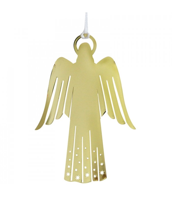 D co de no l scandinave ange dor pour sapin - Ange pour pointe de sapin ...