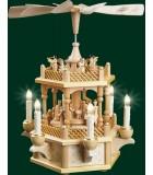 Pyramide de Noël électrique allemande 1 étage