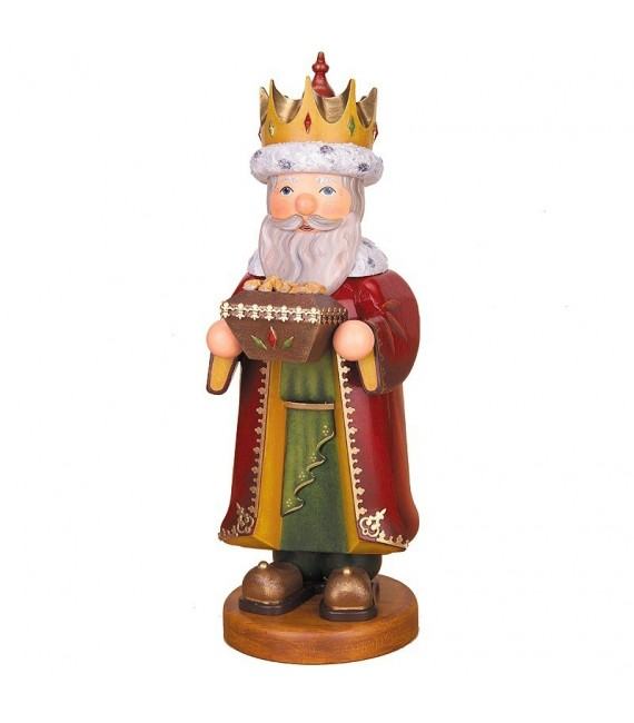Roi mage diffuseur d'encens Melchior, 35 cm