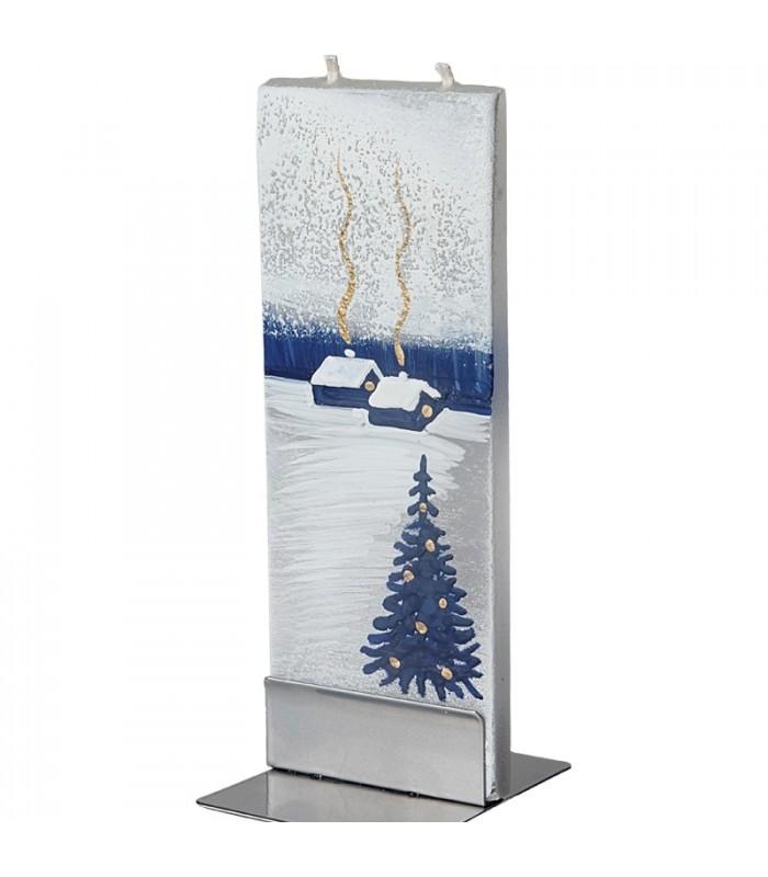 Bougie design bougies d co maisons sous la neige - La maison de la bougie ...