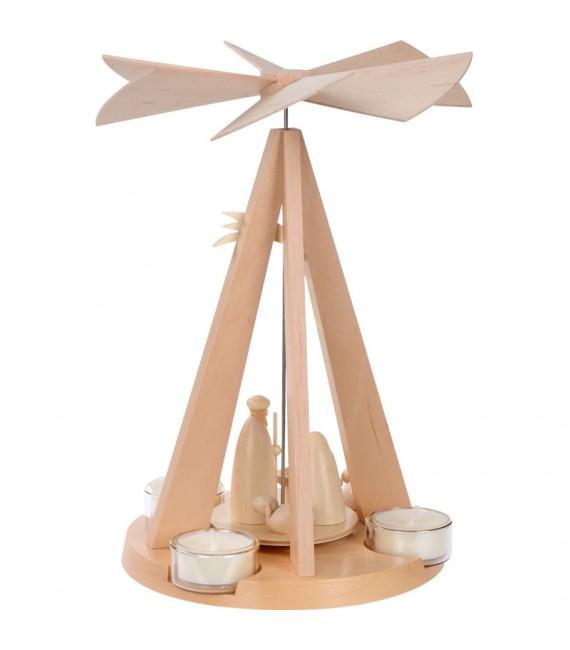 Pyramide de Noël bois design