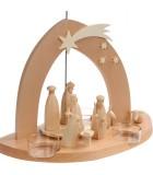 Pyramide de Noël bois