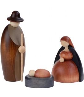 Nativité, petit Jésus, Joseph, Marie, 12 cm