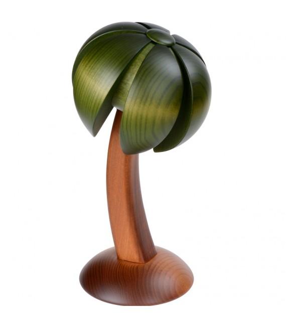 Décor de creche de Noel, palmier en bois