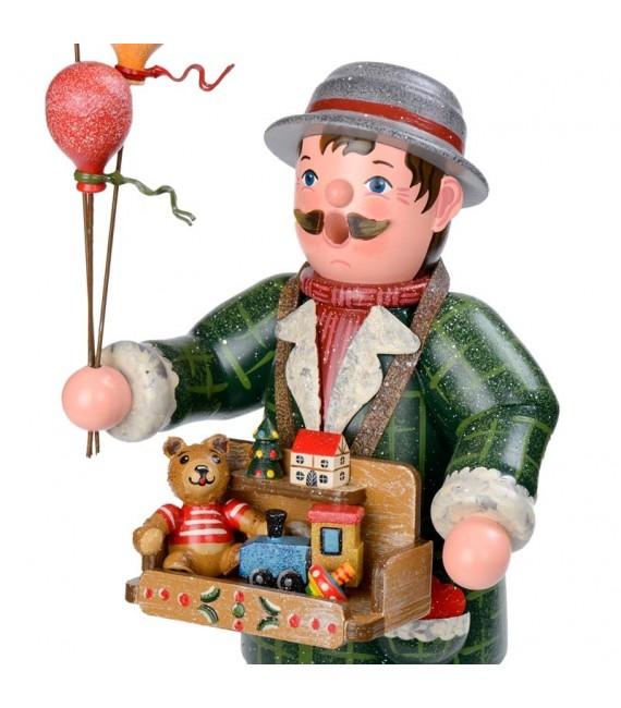 Personnage porte encens vendeur de ballons