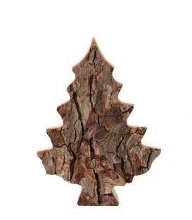 Sapin en bois déco en écorce 15 cm