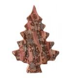 Sapin en bois déco en écorce 20 cm