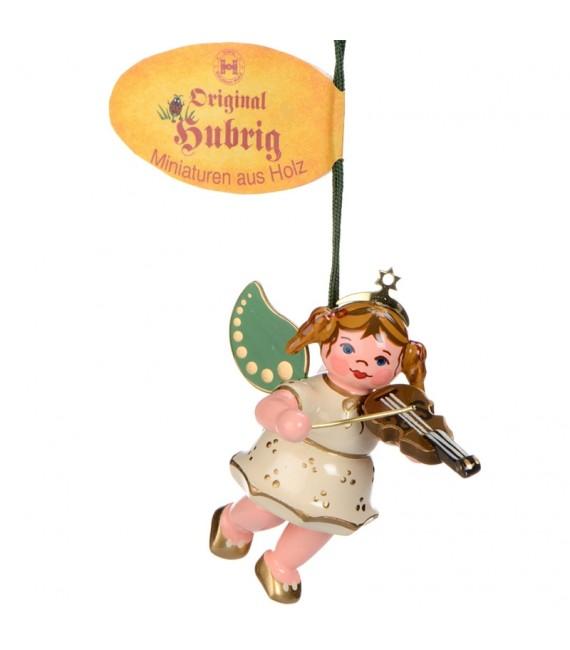 Ange de Noël pour sapin avec un violon
