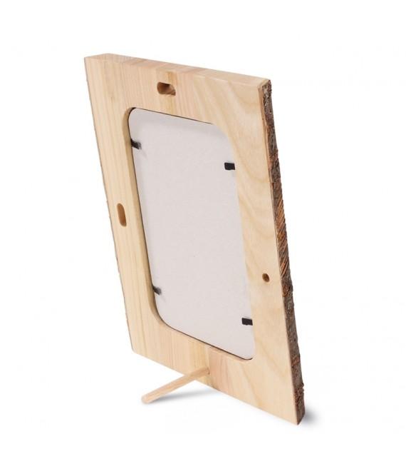 Cadre photo en bois, 10 x 15 cm