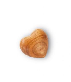 Petit coeur en bois, 3 cm