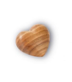 Petit coeur en bois, 4 cm