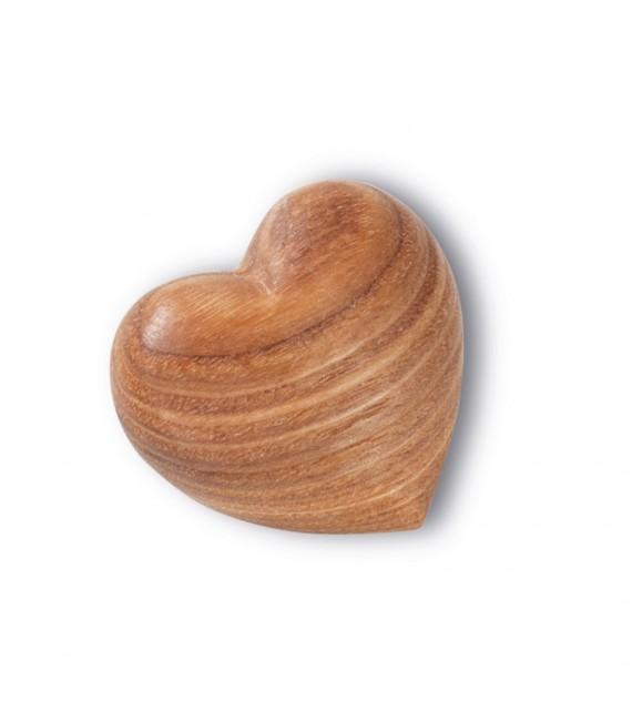 Coeur en bois, 5cm