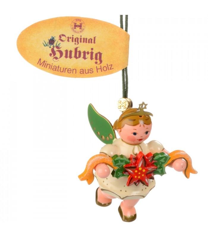 D coration de noel vintage ange pour sapin et couronne de fleurs - Ange pour pointe de sapin ...