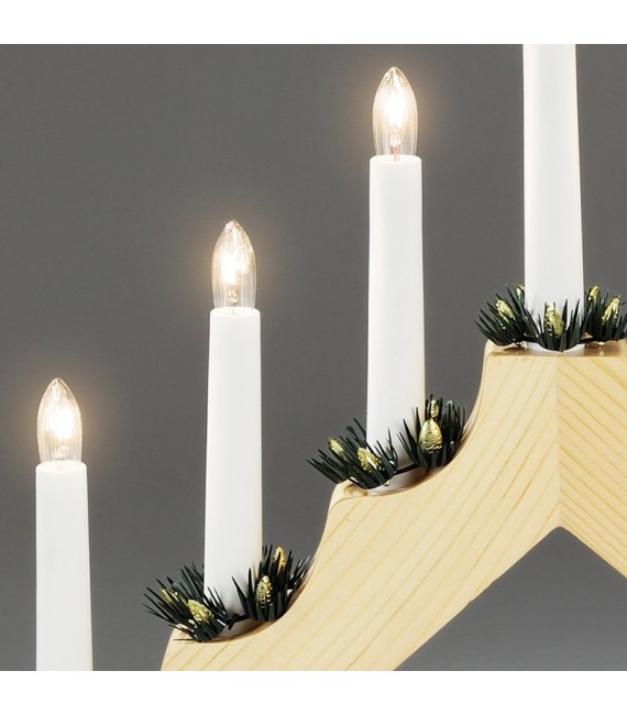 d coration lumineuse no l chandelier en bois naturel. Black Bedroom Furniture Sets. Home Design Ideas