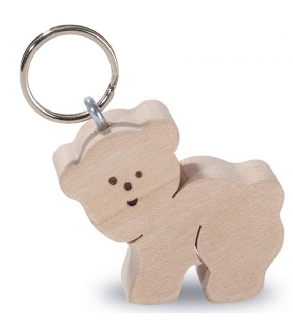Porte-clés ours