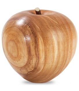 Fruit en bois, grande pomme, 9 cm