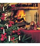 """Guirlande pour sapin de Noël, """"One String"""", 25 ampoules, blanche"""