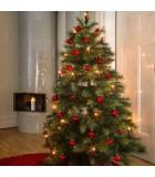 """Guirlande pour sapin de Noël, """"One String"""", 25 ampoules, rouge"""