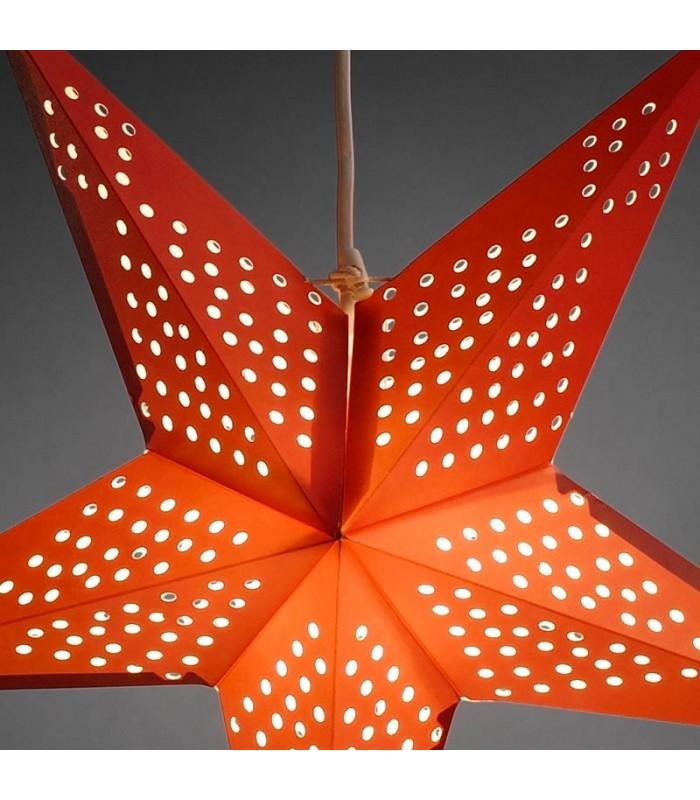 toile lumineuse lectrique 5 branches en papier. Black Bedroom Furniture Sets. Home Design Ideas