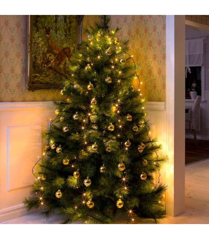 Guirlande Pour Sapin De Noel Voile guirlande pour décoration sapin de Noël, 150 diodes LED