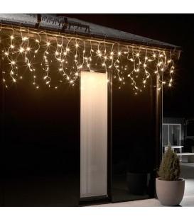 Rideau lumineux gouttière à effet neige à LED, 96 diodes