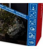 Décoration Noël extérieur, filet lumineux à LED, 80 diodes