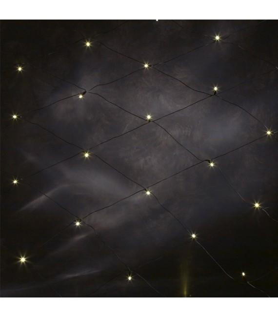 Décoration Noël extérieur, filet lumineux à LED, 32 diodes