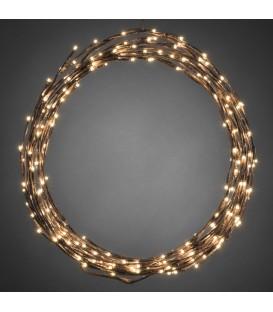 Décoration à LED flexible 240 diodes, variation possible en couronne ouguirlande lumineuse