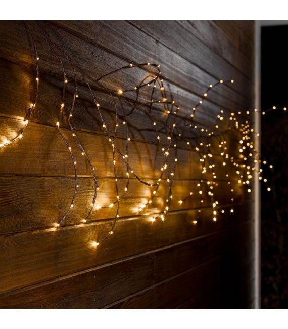 Couronne Ou Guirlande Lumineuse 240 Diodes Led Decoration Noel