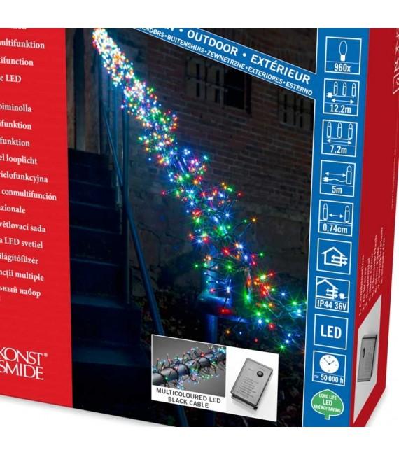 guirlande lumineuse ext rieur led 960 diodes. Black Bedroom Furniture Sets. Home Design Ideas