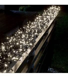 Décoration de Noël extérieur, guirlande 960 diodes blanches