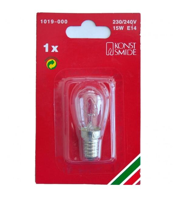 Ampoule de rechange 230V, 15W, culot à vis E14, Konstsmide 1019-000