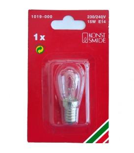 Ampoules de rechange, paquet de 1, clair, 230V, culot à vis E14