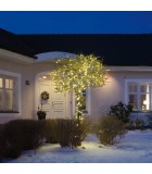 Guirlande lumineuse LED extérieur pour illumination Noël du jardin, 40 diodes