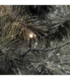 Guirlande lumineuse LED pour illumination Noël extérieur, effet scintillant, 200 diodes