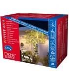 Guirlande lumineuse LED extérieur pour illumination Noël jardin, 120 diodes