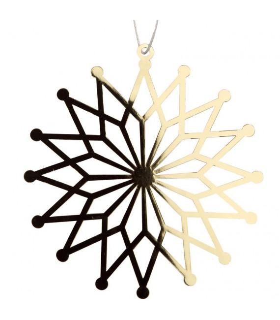 Deco sapin de Noël design, pétales de fleur